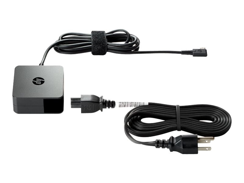 HP 45W USB-C AC Power Adapter, V5Y26AA#ABA, 31842139, AC Power Adapters (external)