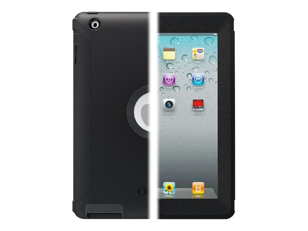 OtterBox iPad 2 3 4 Defender Series Case Black, 77-18640