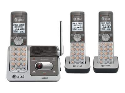 AT&T 3-Handset Cordless Telephone with Caller ID Call Waiting, CL82301, 12555863, Telephones - Consumer