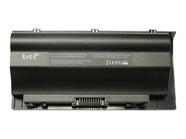 BTI 8-Cell Battery for ASUS G75 0B11000070000, AS-G75, 17402882, Batteries - Other