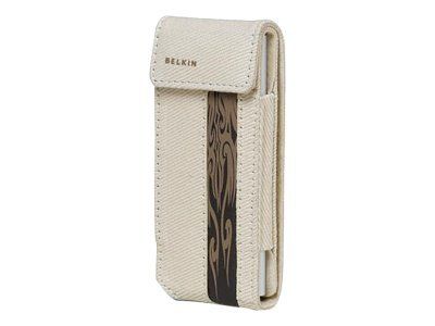 Belkin iPod nano 2G Canvas Flip Case, F8Z128-BT, 7224630, Carrying Cases - iPod
