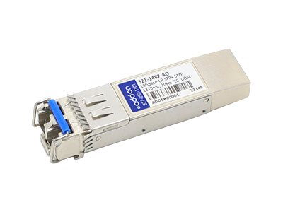 ACP-EP SFP+ 10-GIG LR DOM LC 10KM TAA Transceiver (NetScout 321-1487 Compatible), 321-1487-AO