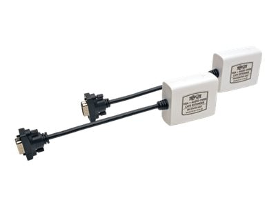 Tripp Lite VGA with Audio over Cat5 Extender Kit, Transmitter and Receiver with EDID Copy, B130-101A-SR