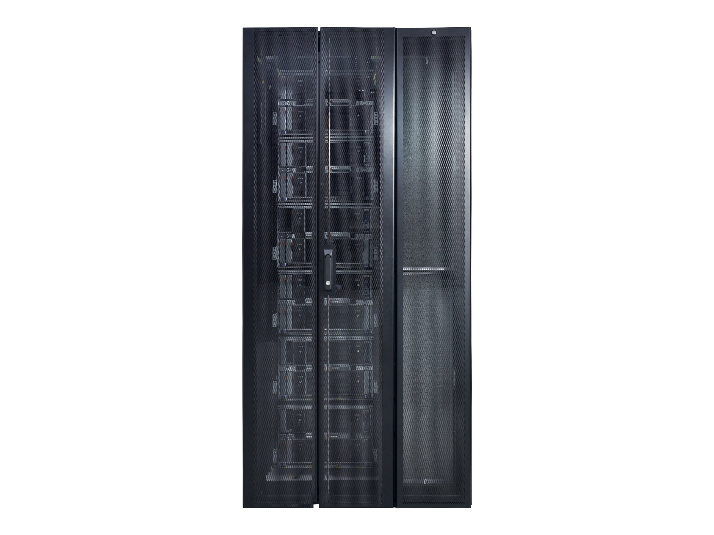 APC InRow SC System 1 InRow SC, 1 NetShelter SX Rack 600mm, and Rear Containment, RACSC101