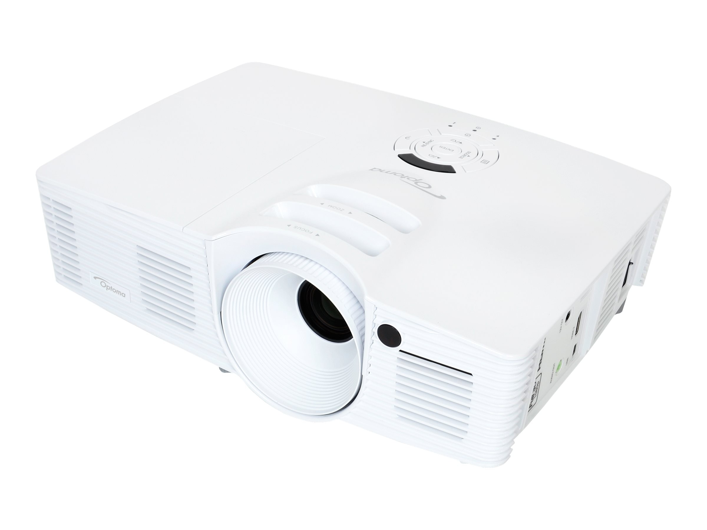 Optoma HD26 HD DLP 3D Projector, 3200 Lumens, White