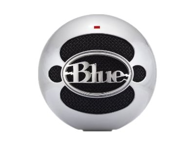 Blue Microphones Blue Snowball USB Mic, Brushed Aluminum