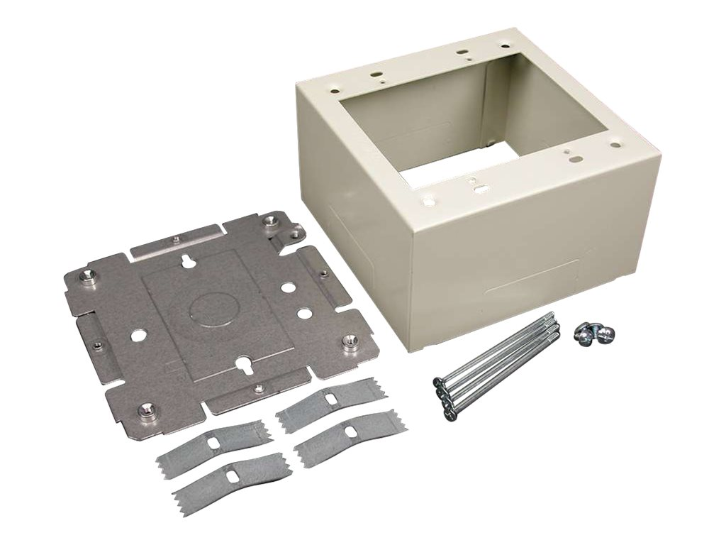 C2G Wiremold 2400 Series Double Gang Extra Deep Device Box Fitting