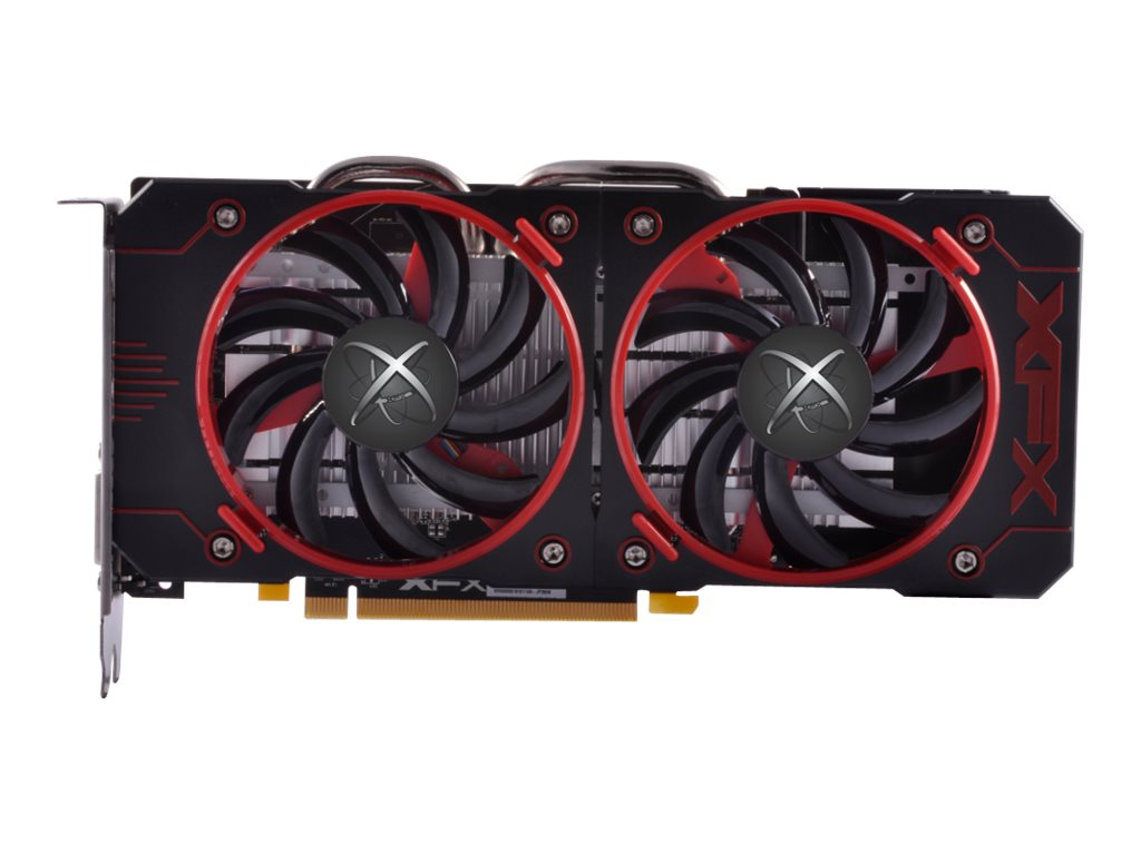 Pine Radeon RX 460 Double Dissipation PCIe 3.0 Overclocked Graphics Card, 4GB GDDR5
