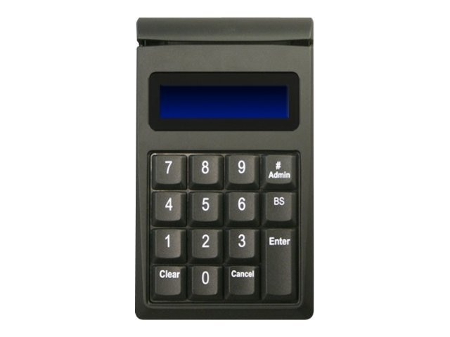 ID Tech SecureKey M130 Encrypted USB Keypad w  Magstripe Reader, Black