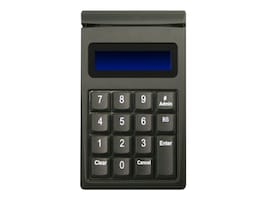 ID Tech SecureKey M130 Encrypted USB Keypad w  Magstripe Reader, Black, IDKE-534833BE, 30861696, Keyboards & Keypads