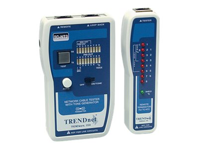 TRENDnet Professional Cable Tester with Tone Generator, TC-NT2