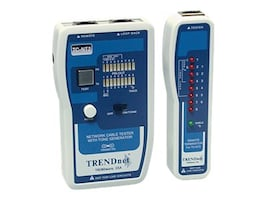 TRENDnet Professional Cable Tester with Tone Generator, TC-NT2, 5244688, Network Test Equipment