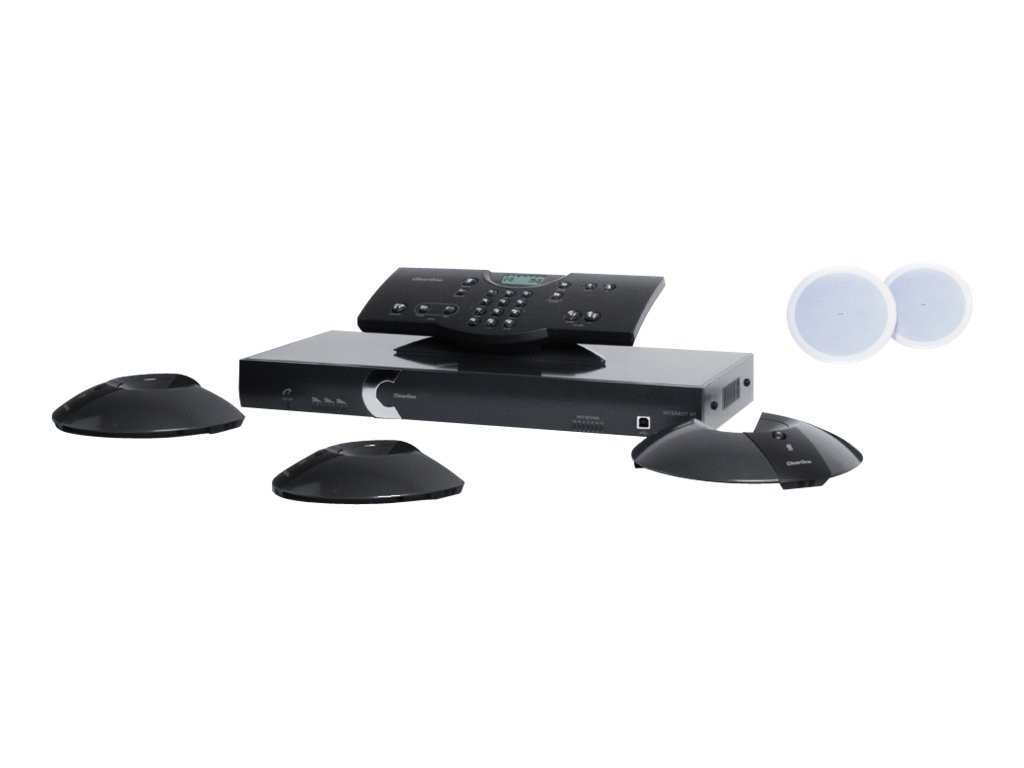ClearOne Interact AT, Bundle F, 930-154-302, 13435863, Audio/Video Conference Hardware