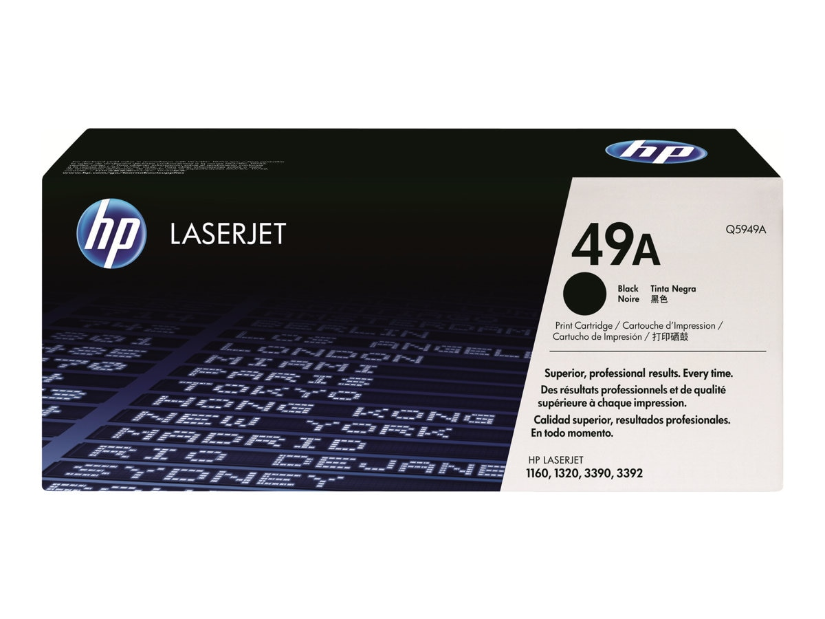HP 49A (Q5949AG) Black Original LaserJet Toner Cartridge for US Government, Q5949AG, 9465066, Toner and Imaging Components