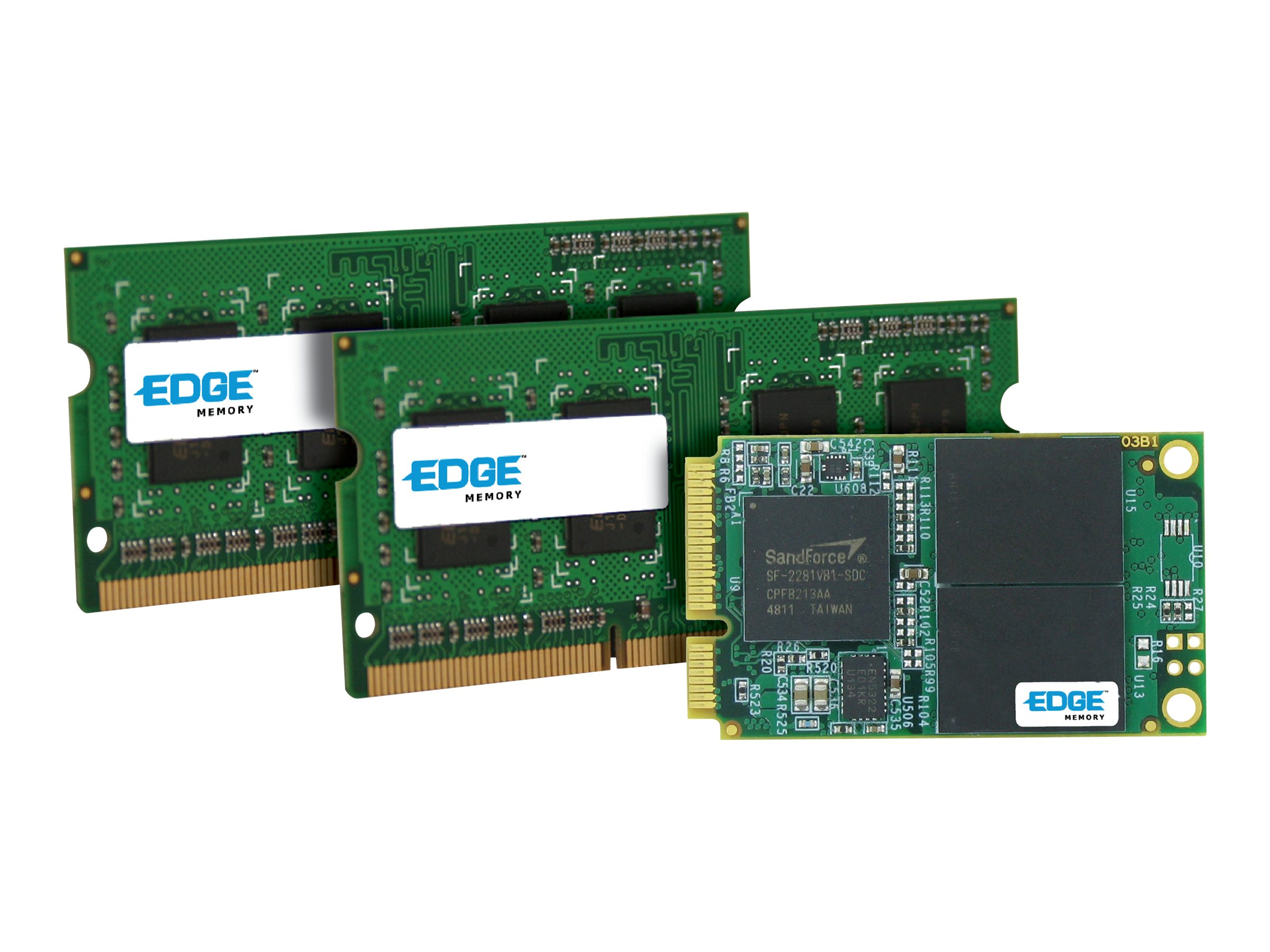 Edge 60GB Boost Pro mSATA 6Gb s Solid State Drive w  4GB PC3-12800 SODIMM Kit for SFF Mini PC