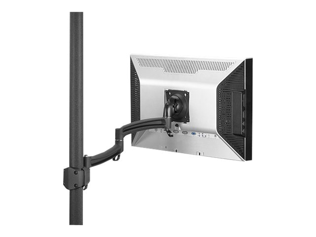 Chief Manufacturing Kontour Dual Arm Pole Mount, Single Monitor, K2P100B, 15392705, Stands & Mounts - AV