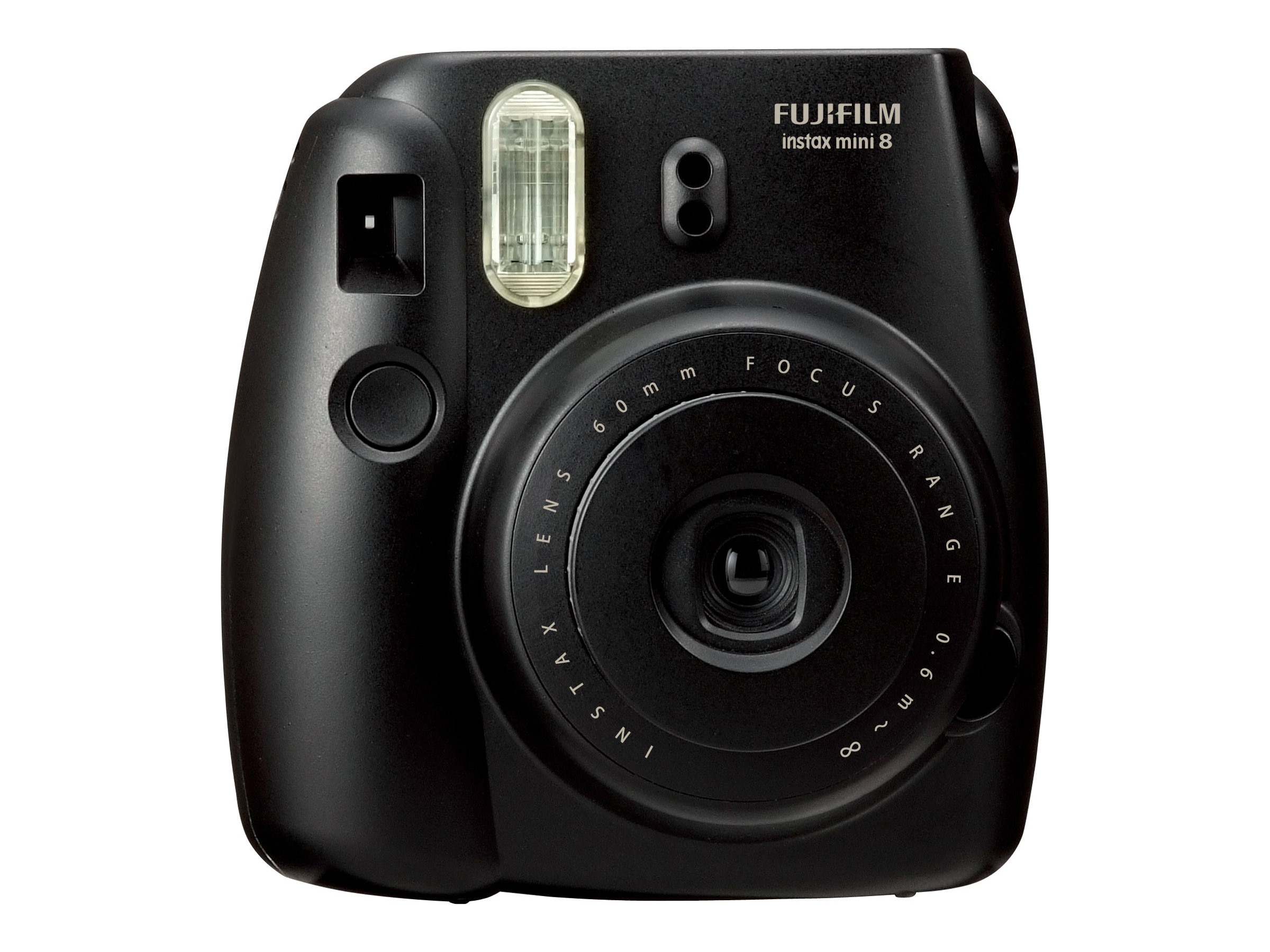 Fujifilm Instax Mini 8 Camera, Black, 16273403, 15682171, Cameras - Film