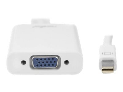 RocStorage Mini DisplayPort to HDDB15 M F Adapter, White, Y10A104-W1