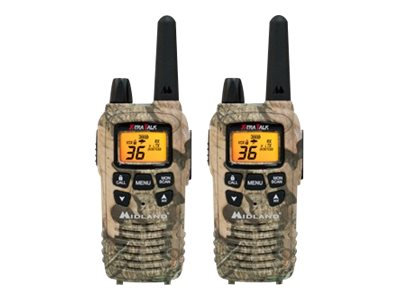 Midland Radio 36-Channel Outfitters Camouflage Two-Way Radio, LXT650VP3, 17413442, Two-Way Radios