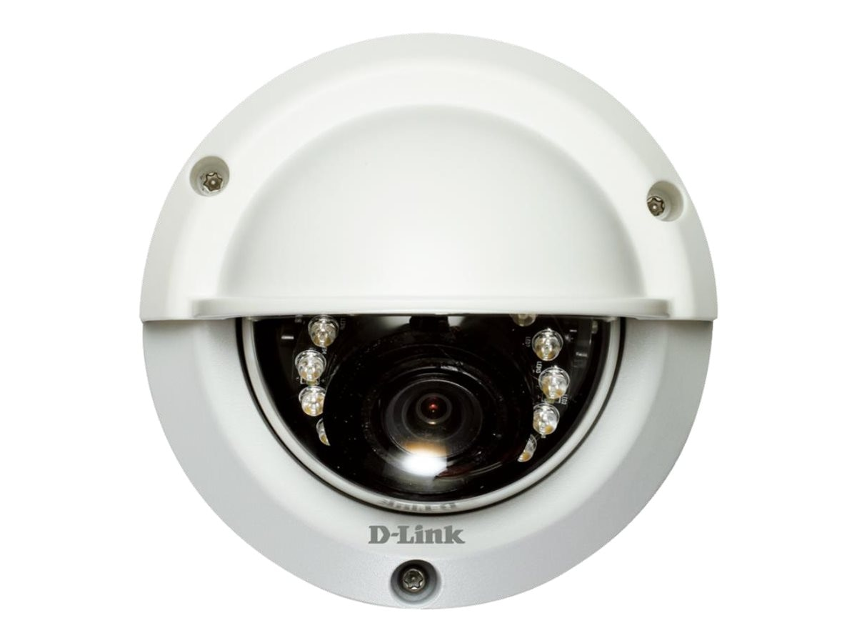 D-Link DCS-6314 Full HD 2.0MP WDR Outdoor Dome IP Camera, DCS-6314
