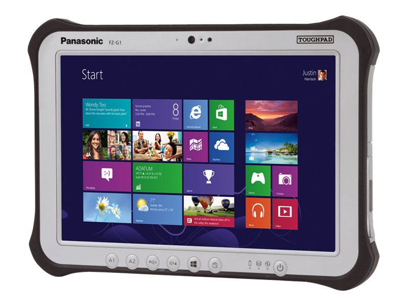 Panasonic Toughpad FZ-G1 8GB 256GB SSD 10.1 WUXGA MT, FZ-G1J2700CM, 19176031, Tablets