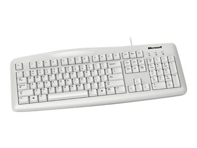 Microsoft Wired Keyboard 200 for Business, USB Port, English, North America, White, 6JH-00026