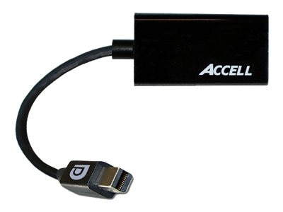 Accell UltraAV Mini DisplayPort 1.1 to HDMI 1.4 Passive Adapter, B086B-005B, 16075445, Adapters & Port Converters