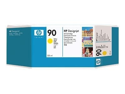 HP 90 Yellow Ink Cartridge for HP DesignJet 4000 Series Printer (225-ml)