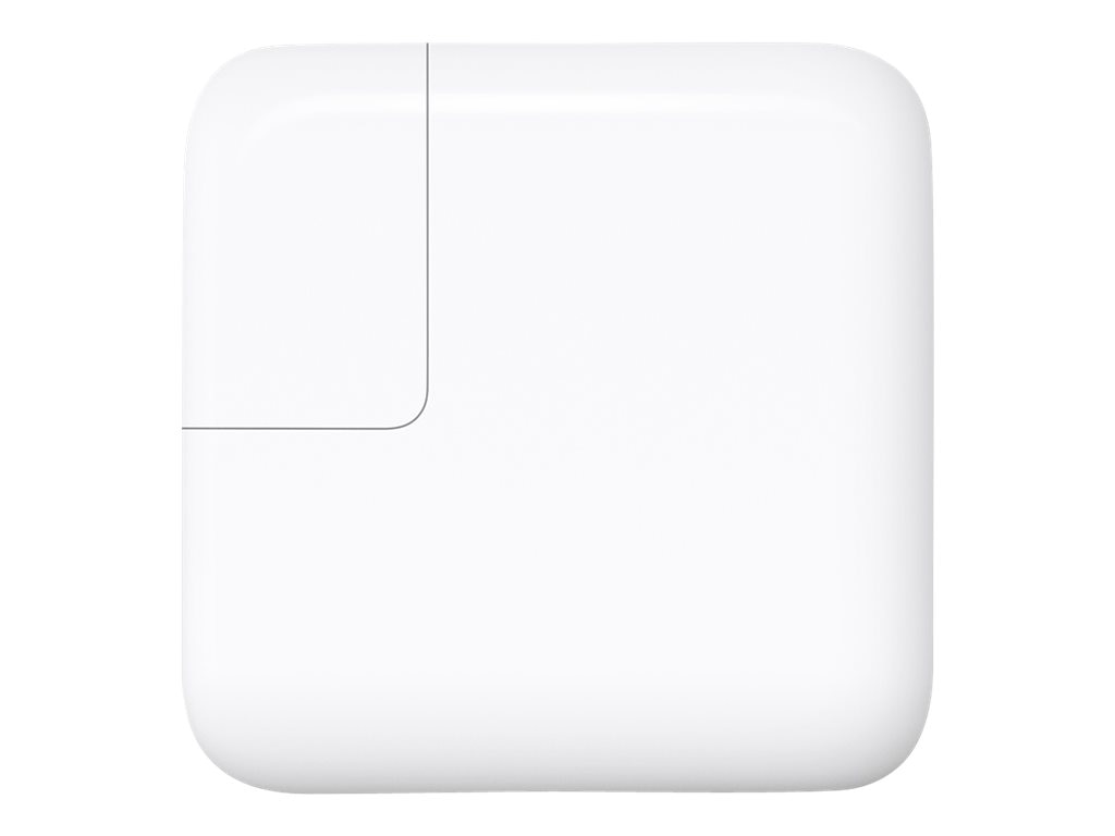 Apple USB-C Power Adapter, 29W, White, MJ262LL/A