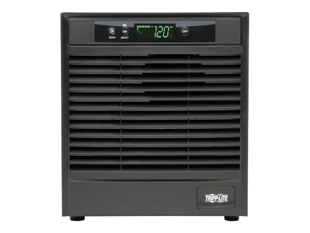 Tripp Lite SmartOnline 3kVA Online Double Conversion UPS, Tower, Interactive LCD, 120V, (9) Outlets, SU3000XLCD