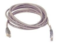 Belkin Cat5e Non-Booted UTP Shielded Crossover Cable, Gray, 6ft, A3X126-06-H, 6458397, Cables