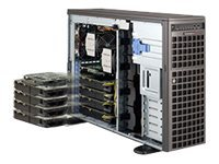 Supermicro SuperServer Barebones 4U RM Xeon E5-2600 Family Max.512GB DDR3 8x3.5 HS Bays 7xPCIe GNIC 2x1620W, SYS-7047GR-TRF-FC475, 14764968, Servers