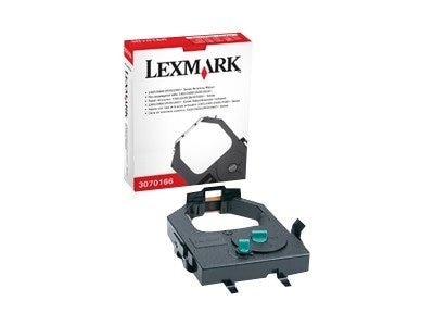 Lexmark Black Standard Yield Re-Inking Ribbon for Forms Printer, 3070166