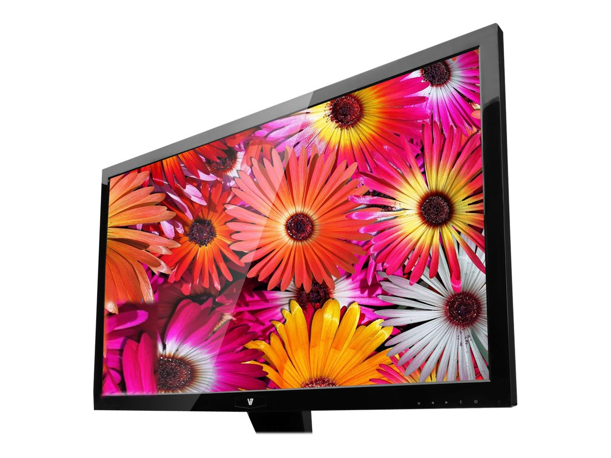 V7 27 L27000WHS-9N Full HD LED-LCD Monitor, Black, L27000WHS-9N