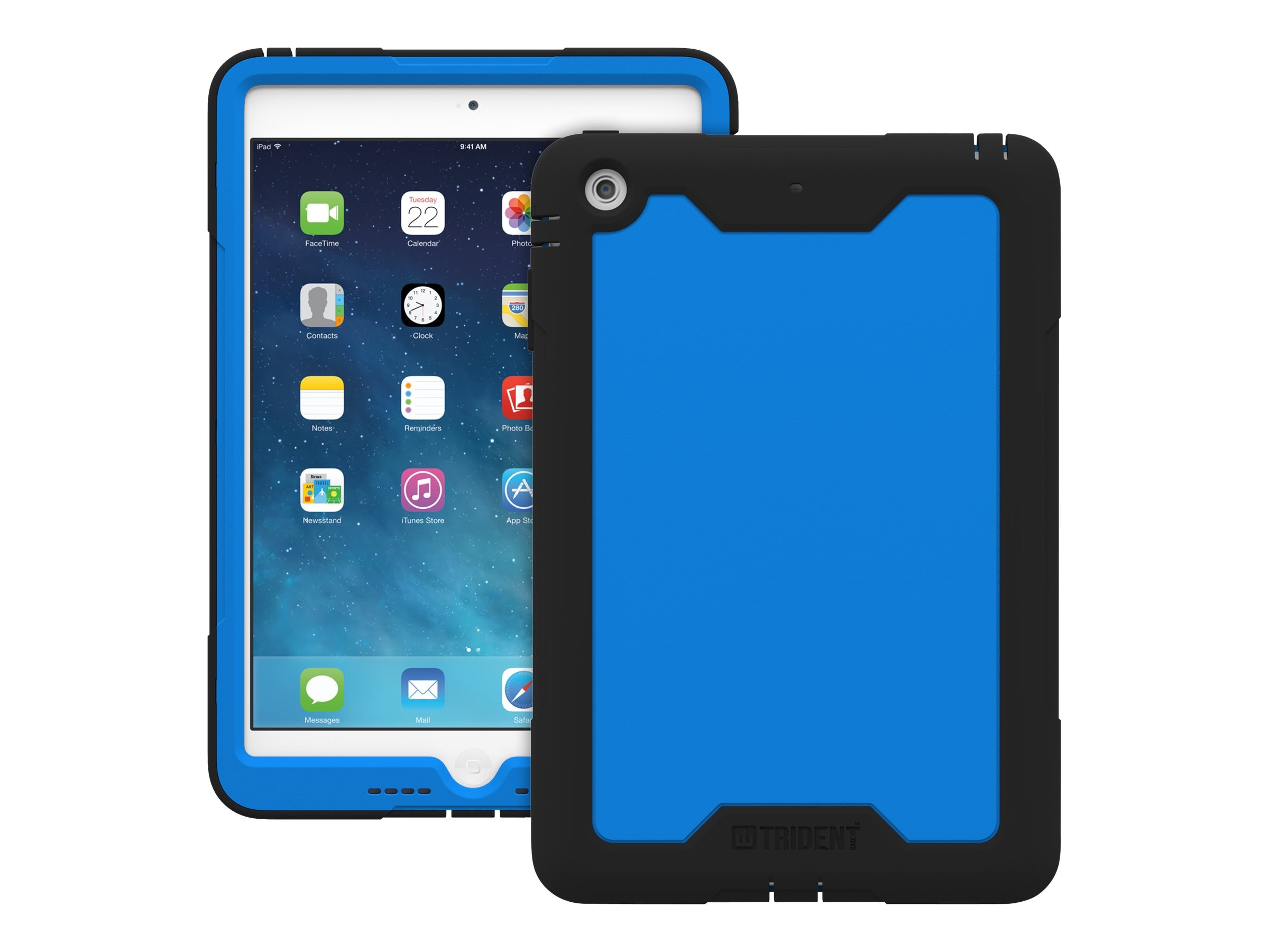 Trident Case 2014 Cyclops Case for iPad mini 3 w  Retina Display, Blue