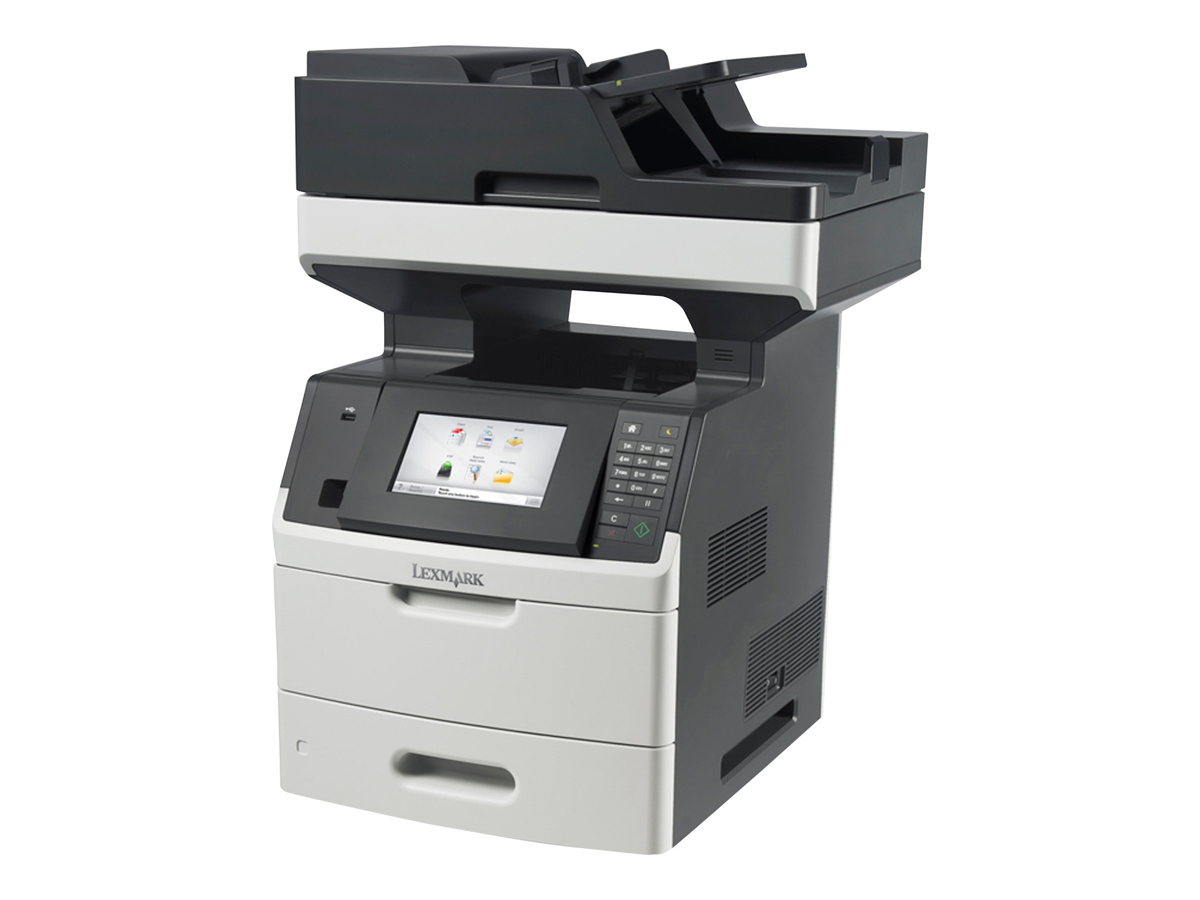Lexmark MX710de Monochrome Laser Multifunction Printer, 24T7401, 14908474, MultiFunction - Laser (monochrome)