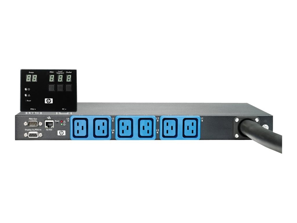 HPE Core Intelligent Modular Power Distribution Unit 7.3kVA 32A Single-phase Int'l, AF525A, 27417201, Power Distribution Units