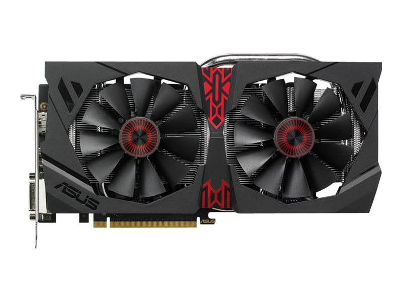 Asus Radeon R9 380 Gaming PCIe Graphics Card, 4GB GDDR5, STRIX-R9380-DC2OC-4GD5-GA, 26690521, Graphics/Video Accelerators