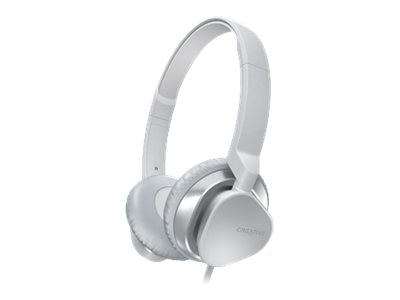Creative Labs HITZ MA2300 Headset, White, 51EF0630AA009, 16094814, Headsets (w/ microphone)