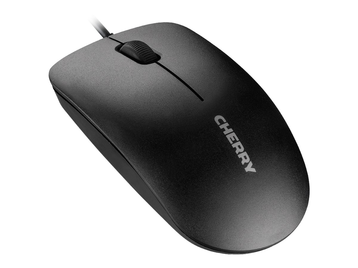 Cherry MC 1000 USB Mouse, 3-Button, 1200dpi, Black, JM-0800-2, 29320542, Mice & Cursor Control Devices