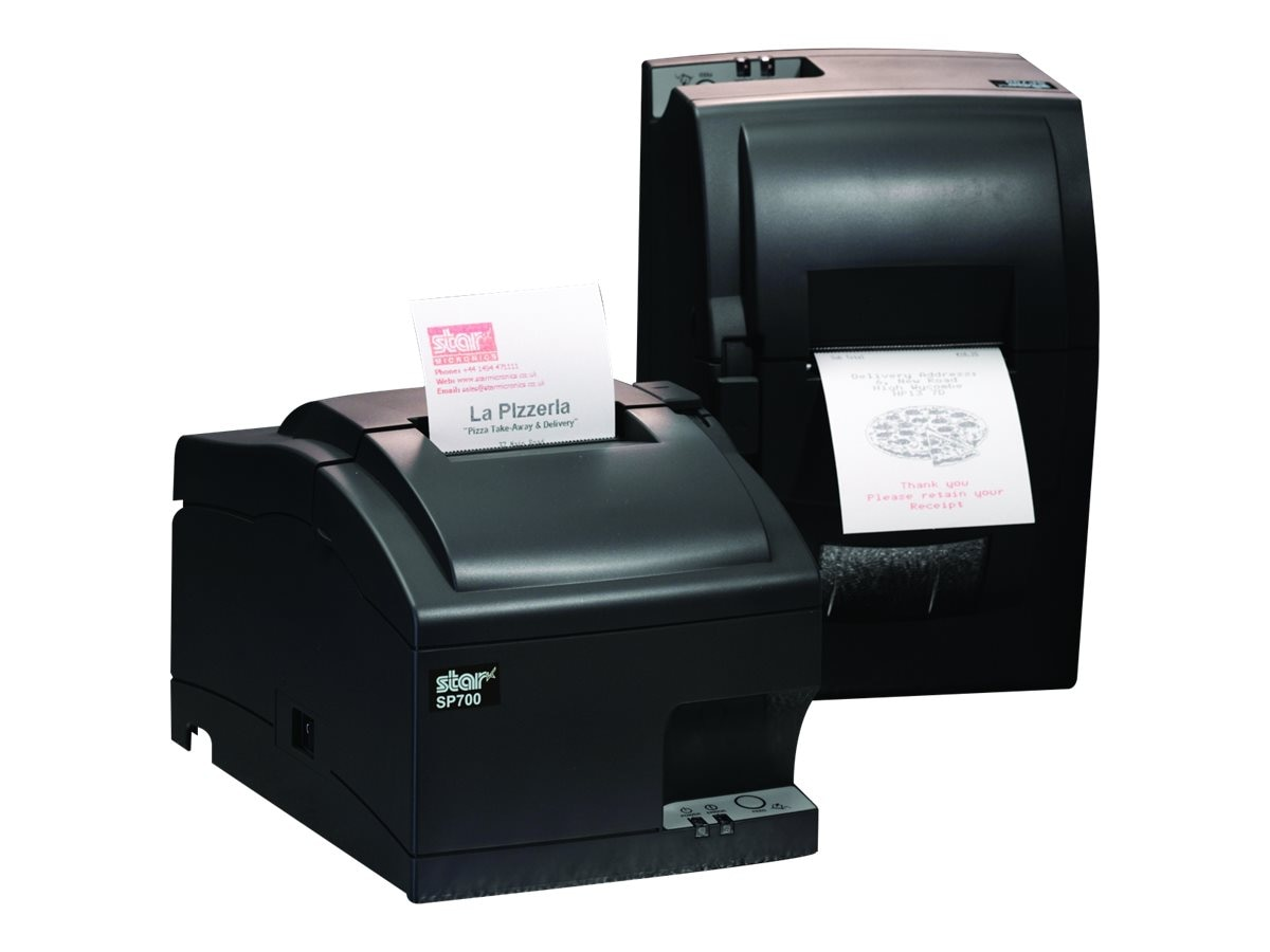 Star Micronics SP742ME LAN Inpact Printer - Gray, 39336531