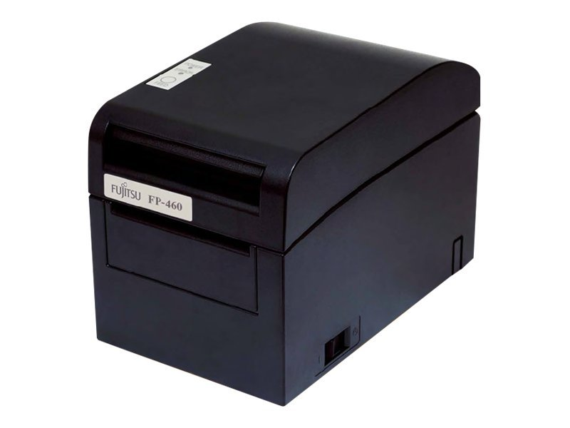 Fujitsu FP-460 Dual Interface Serial & USB Single Station Thermal Printer - Black w  AC Adapter, KA02055-D718, 12402752, Printers - POS Receipt