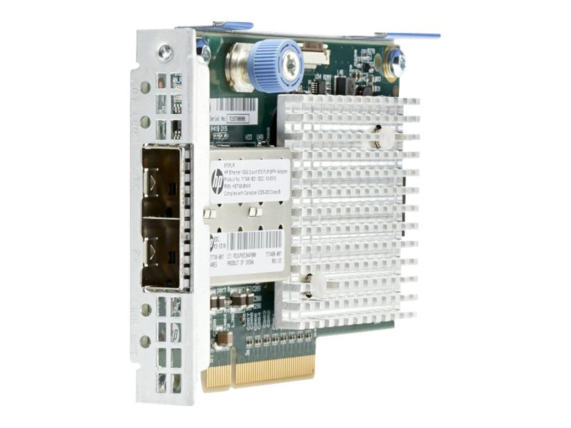 HPE Ethernet 10Gb 2-port 570FLR-SFP+ Adapter, 717491-B21, 16454138, Network Adapters & NICs