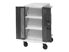 Bretford Manufacturing 36 Unit Tablet Cart with Locking Access Doors, Swivel Casters, DELL36, 33177857, Computer Carts