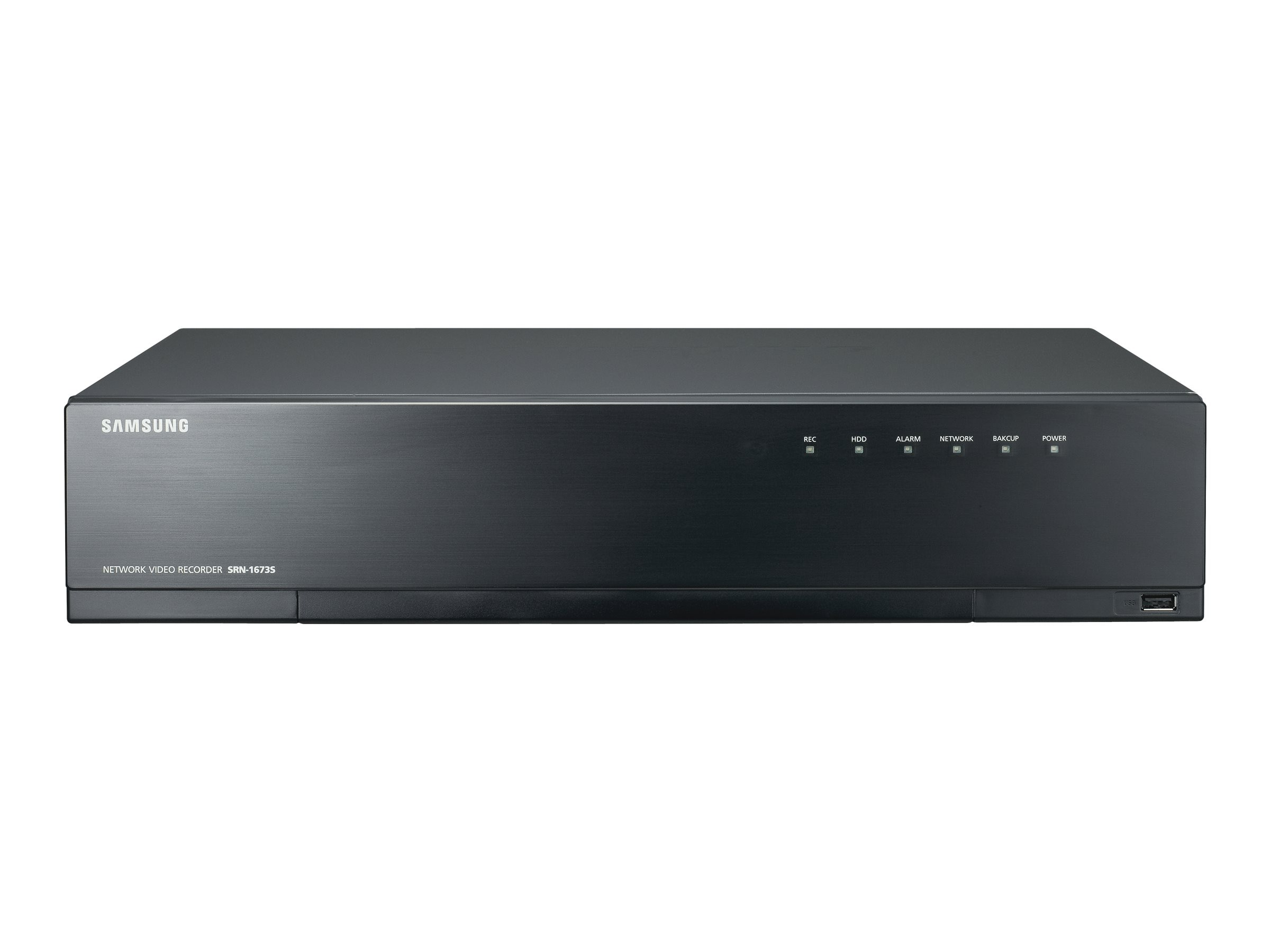 Samsung 16CH NVR with PoE Switch, 1TB HDD, SRN-1673S-1TB