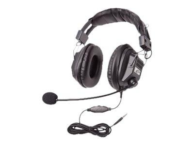 Califone Headset w  Boom Mic, Volume Control & 3.5mm Plug via ErgoGuys