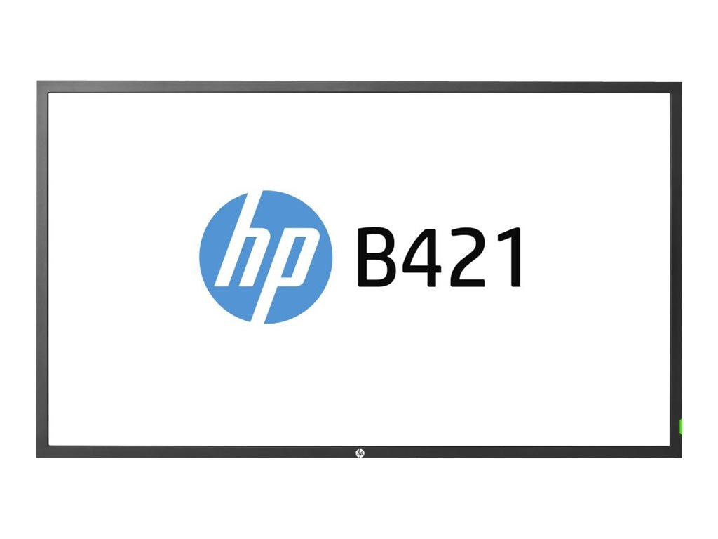 HP 42 B421 Full HD LED-LCD Display, Black, F6N38AA#ABA, 16989204, Monitors - Large-Format LED-LCD