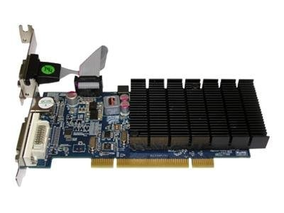 Jaton Radeon HD 5450 Low-Profile PCI Graphics Card, 512MB DDR3, VIDEO-339PCI-HLX, 13105143, Graphics/Video Accelerators