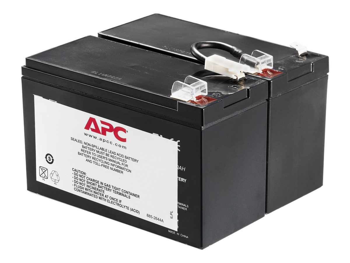 APC Replacement Battery Cartridge #109 for BN1250, BR1200, BR1500 models, APCRBC109
