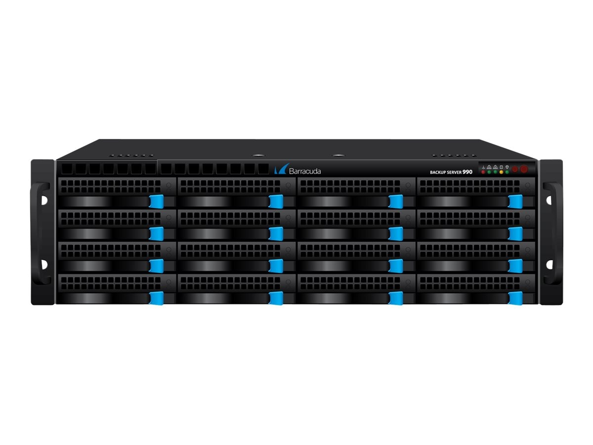 Barracuda Backup Server Model 990 w  1-year Energize Updates, BBS990A1, 12838020, Disk-Based Backup